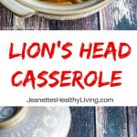 Lions Head Casserole - an authentic Chinese recipe - braised meatballs with napa cabbage - comfort food!
