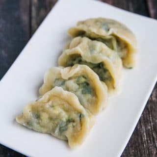 Spinach Tofu Dumplings Recipe