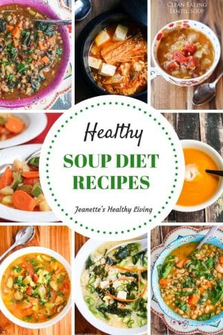 Healthy Soup Diet Recipes - reboot your health with these soup recipes low in calories and carbs
