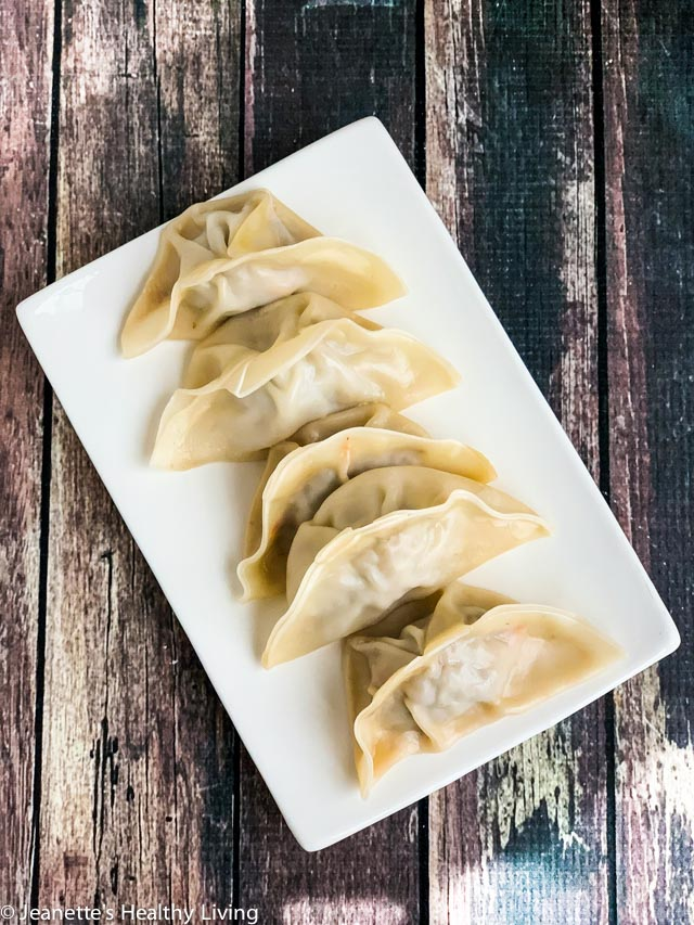 Turkey Carrot Mushroom Dumplings - light, healthy and delicious - perfect as an appetizer, or for dinner; good for low-fiber, low-residue diet