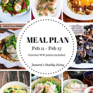 Weekly Meal Plan Feb 11