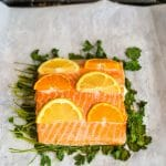 Slow Roasted Citrus Salmon