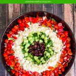 chopped greek salad - great for entertaining a large crowd