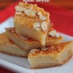 Florence Lin's baked coconut sticky rice cake