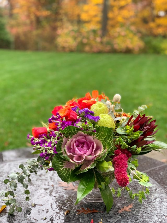 Fall Flower Arrangement