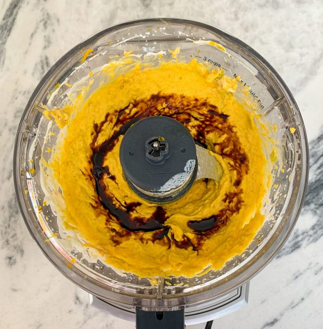 Kabocha Squash Dip with Date Syrup