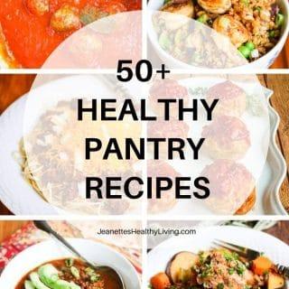 healthy pantry recipes