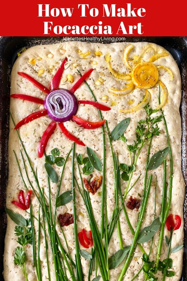 how to make focaccia art