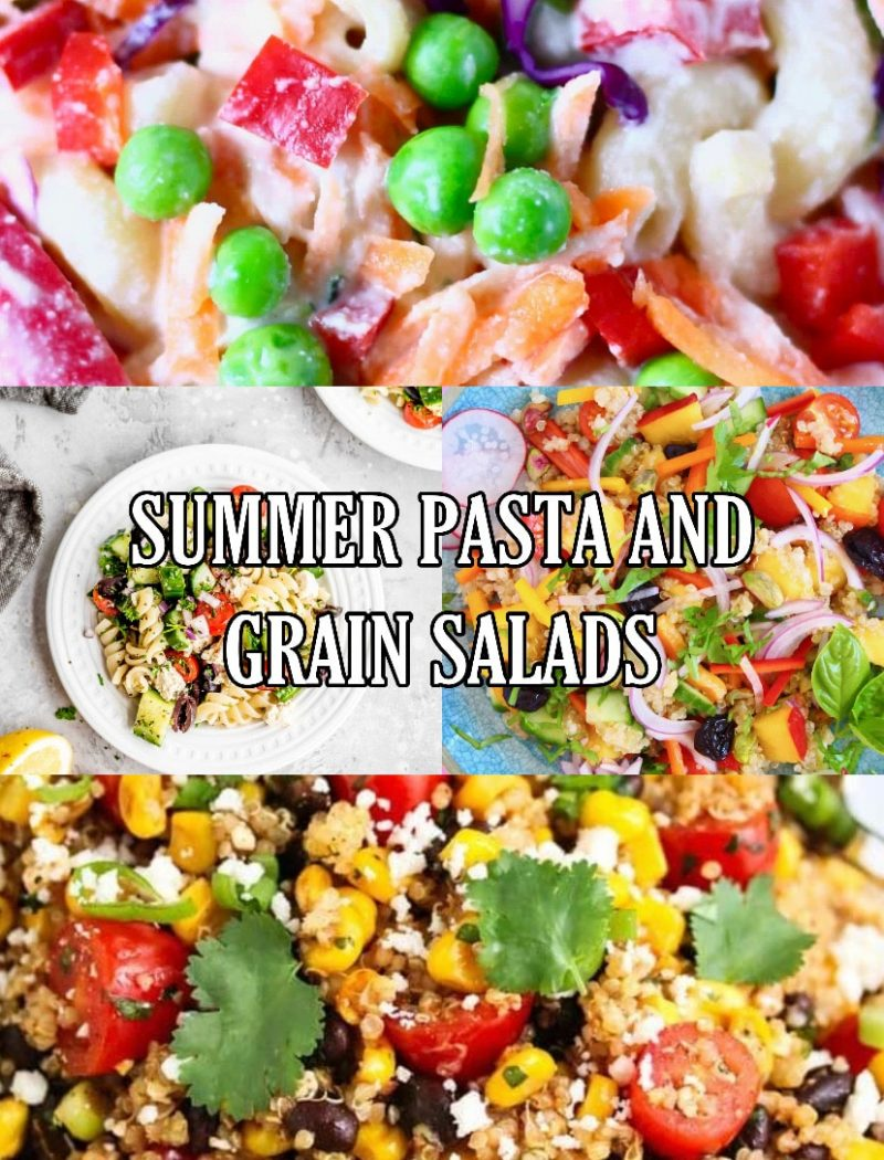 Summer Pasta and Grain Salads