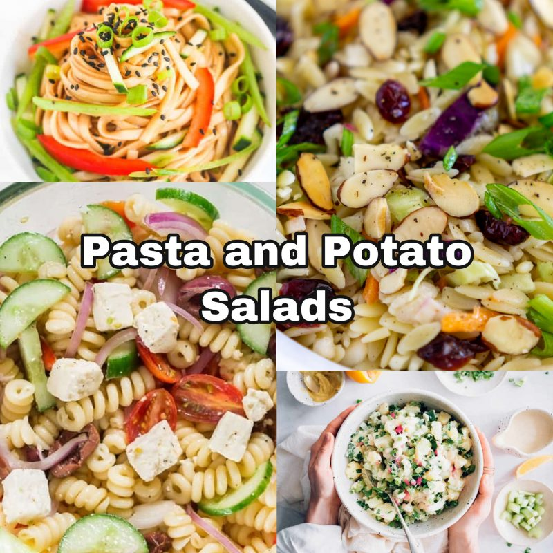 Pasta and Potato Salads