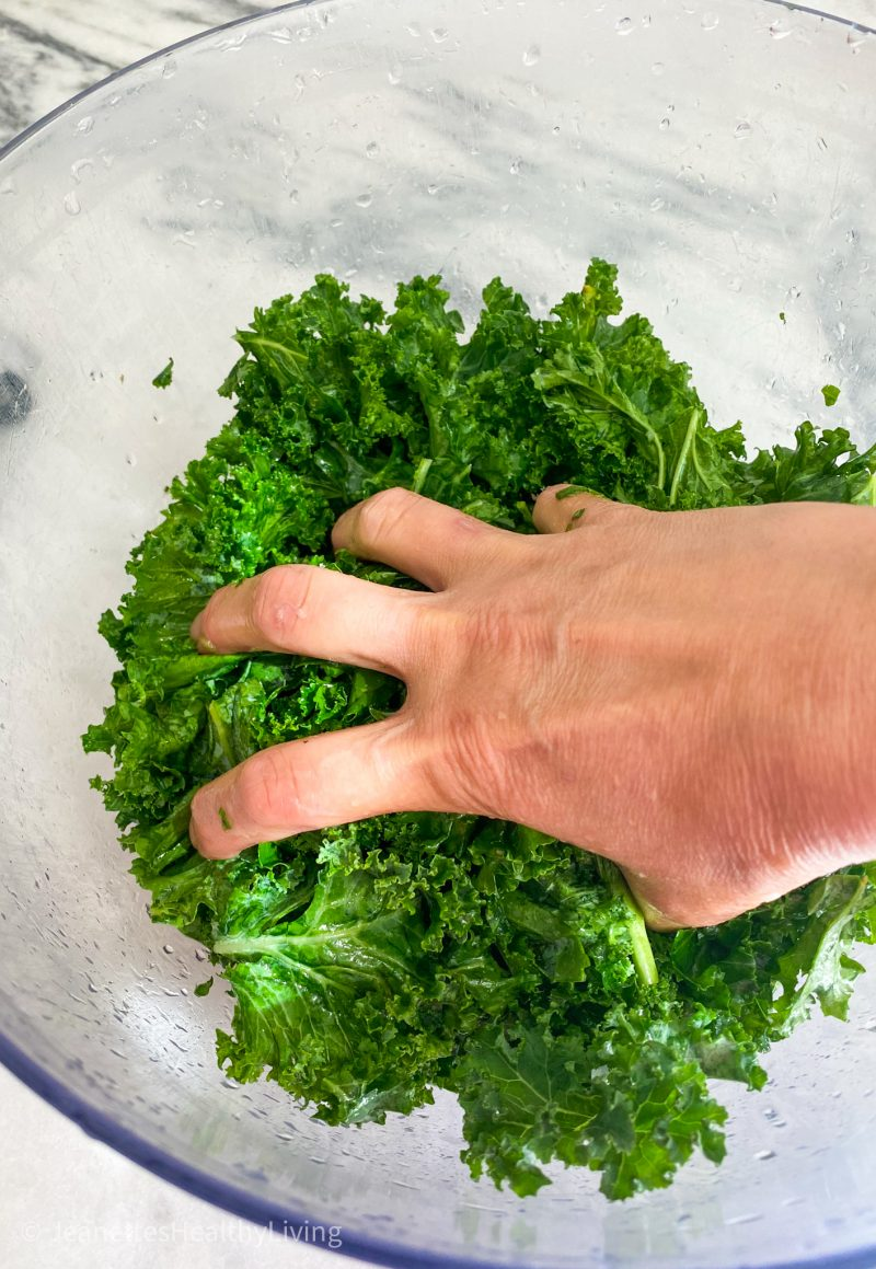 Massaging Kale Salad
