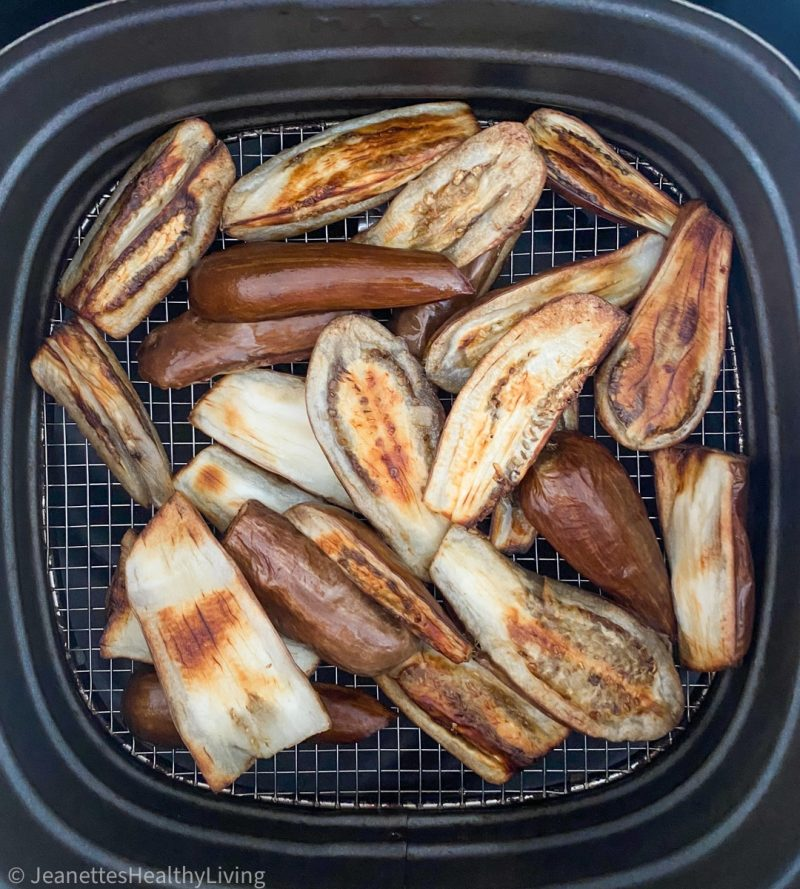 Air Fried Spicy Chinese Eggplant