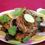 Bombay Chile and Cilantro Chicken
