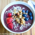 Brazilian Acai Breakfast Bowl © Jeanette