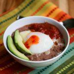 Breakfast Refried Bean Bowl © Jeanette