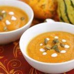 Spiced Carrot Sweet Potato Soup
