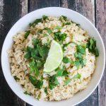 Cilantro Lime Rice - copycat Chipotle rice; serve with beans, carnitas