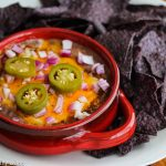 Cincinnati Chili Refried Bean Cheese Dip © Jeanette
