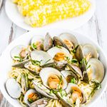 Fresh White Clam Sauce - the secret is a touch of cream and a slightly thickened sauce