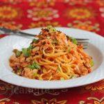 Creamy Tomato Crab Pasta © Jeanette