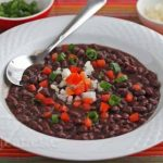 Cuban Black Bean Soup (Frijoles Negros) © Jeanette