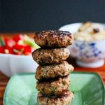 Filipino Turkey Garlic Sausage Patties © Jeanette