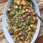 Gluten-Free Herbed Cornbread Stuffing