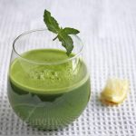 Kale Spinach Lettuce Apple Green Juice © Jeanette