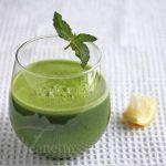 Kale Spinach Lettuce Apple Green Juice © Jeanette