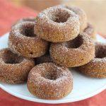 Gluten Free Baked Pumpkin Spice Donuts