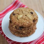 Gluten Free Oatmeal Peanut Chocolate Chip Cookies