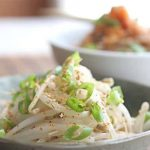 Korean Bean Sprout Salad Banchan
