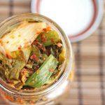 Kale Kimchi in a Jar