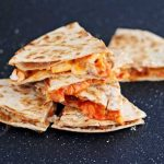 Spicy Korean Chicken Quesadilla