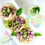 Melon Mojito Fish Tacos