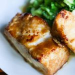 Deliciously Easy Miso Glazed Chilean Sea Bass © Jeanette
