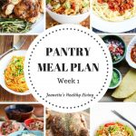 Healthy Pantry Meal Plan One