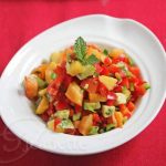 Peach Kiwi Avocado Pepper Salsa © Jeanette