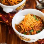 Super Healthy Pumpkin Turkey Chili - this bowl of comfort is packed with nutrition and flavor