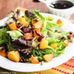 Roasted Butternut Squash Beet Cranberry Salad - you
