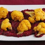 Roasted Caulflower and Beet Hummus © Jeanette