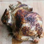 Homemade Rotisserie Chicken © Jeanette