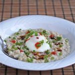 Asian Inspired Savory Oatmeal © Jeanette