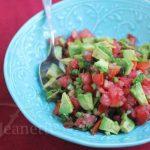 Smoked Avocado Tomato Salsa © Jeanette