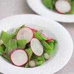 Snow Pea Radish Salad