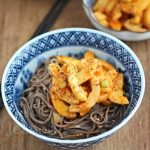 Soba Noodles with Miso Gochujang Pickles © Jeanette