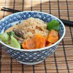 Spicy Thai Coconut Winter Squash Noodle Soup
