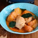 Thai Red Curry Chicken with Winter Squash © Jeanette