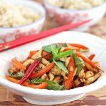 Thai Stir-Fry Chicken with Basil