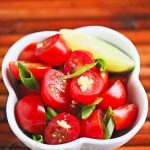 Tomato Ginger Lime Salad © Jeanette